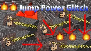 Roblox Super Power Training Sim Jump Power Glitch (NOT WORKING).