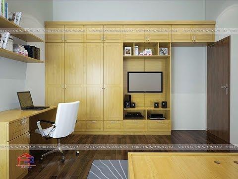 25 mẫu thiết kế tủ quần áo gỗ sồi hiện đại bạn không thể bỏ lỡ