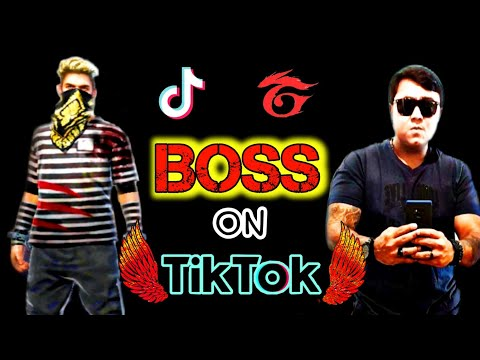 SK SABIR JIGS BOSS ON TIKTOK 😂 | FREE FIRE ON TIK TOK | BEST FREE FIRE TIKTOK | GARENA FREE FIRE