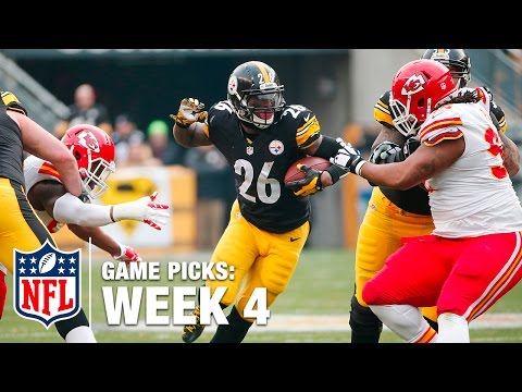 Game Picks in 60 Seconds (Week 4) | NFL Now