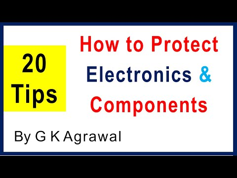 Power supply circuit & component protection, 20 tested tips