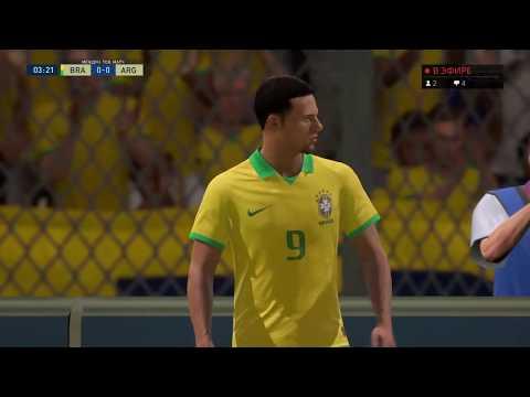 Бразилия - Аргентина / 15.11.2019/ Товарищеский Матч