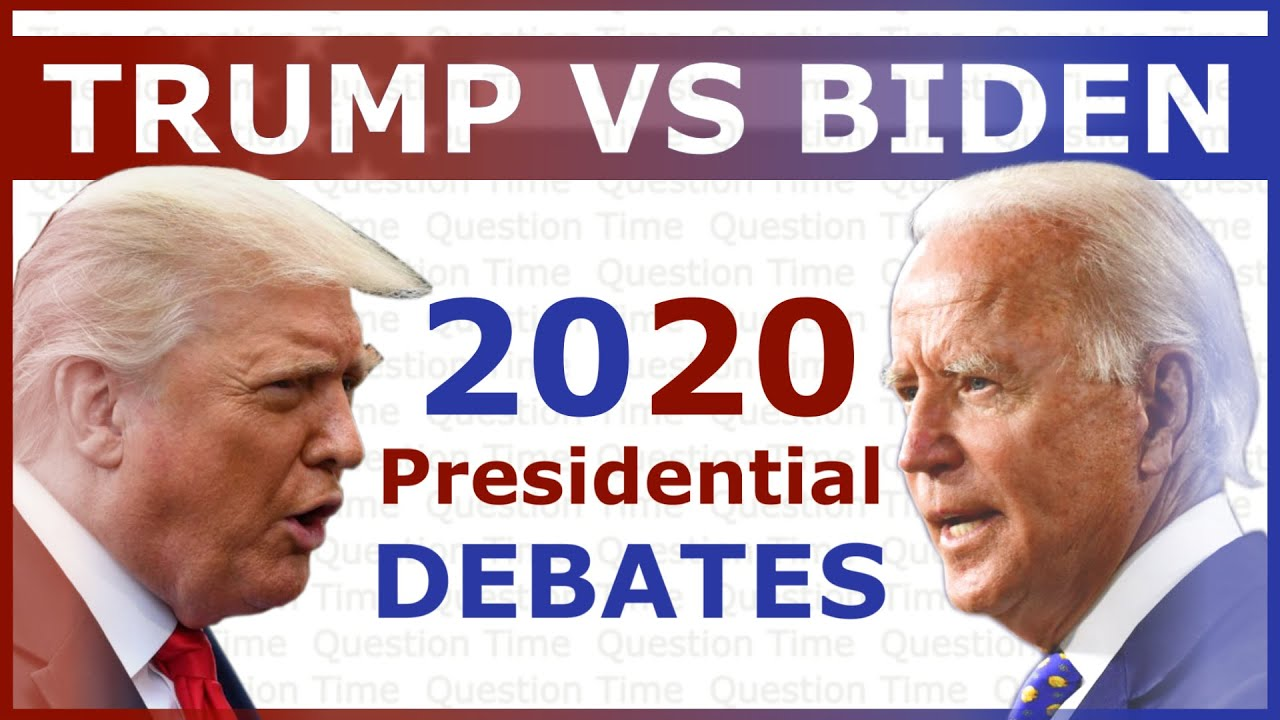Presidential Debate 2020 Trump vs Biden | QT Politics