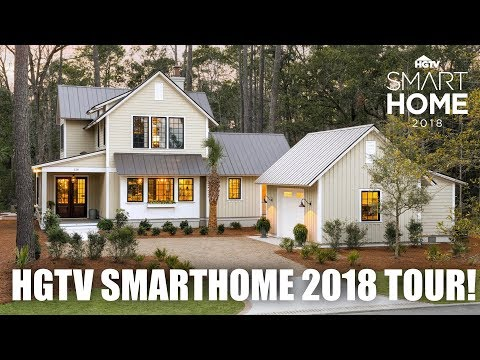 Ultimate HGTV Smart Home 2018 Tour! - YouTube