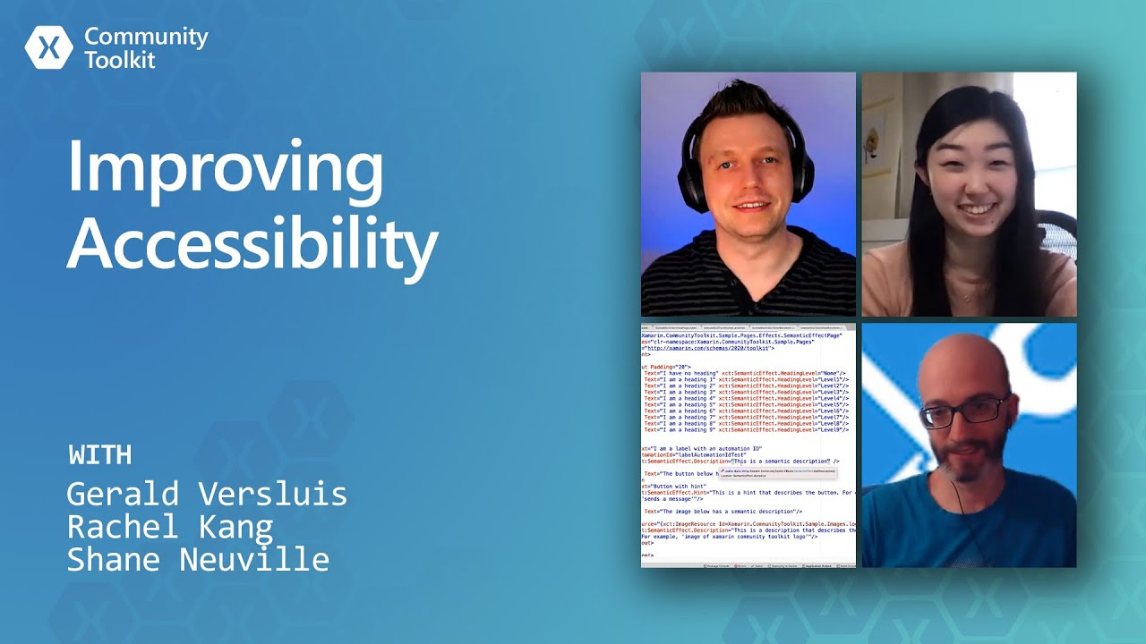 Improving Accessibility with Xamarin Community Toolkit