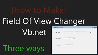 [How to Make] - Fov Changer for Mw2 in three differents ways (after update)