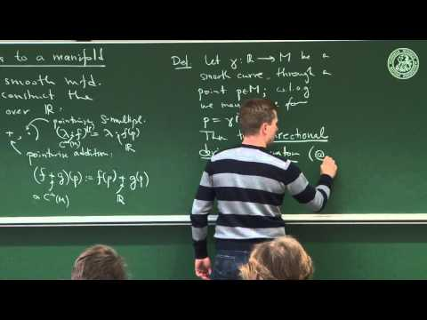 Differential structures: the pivotal concept of tangent vector spaces - Lec 09 - Frederic Schuller