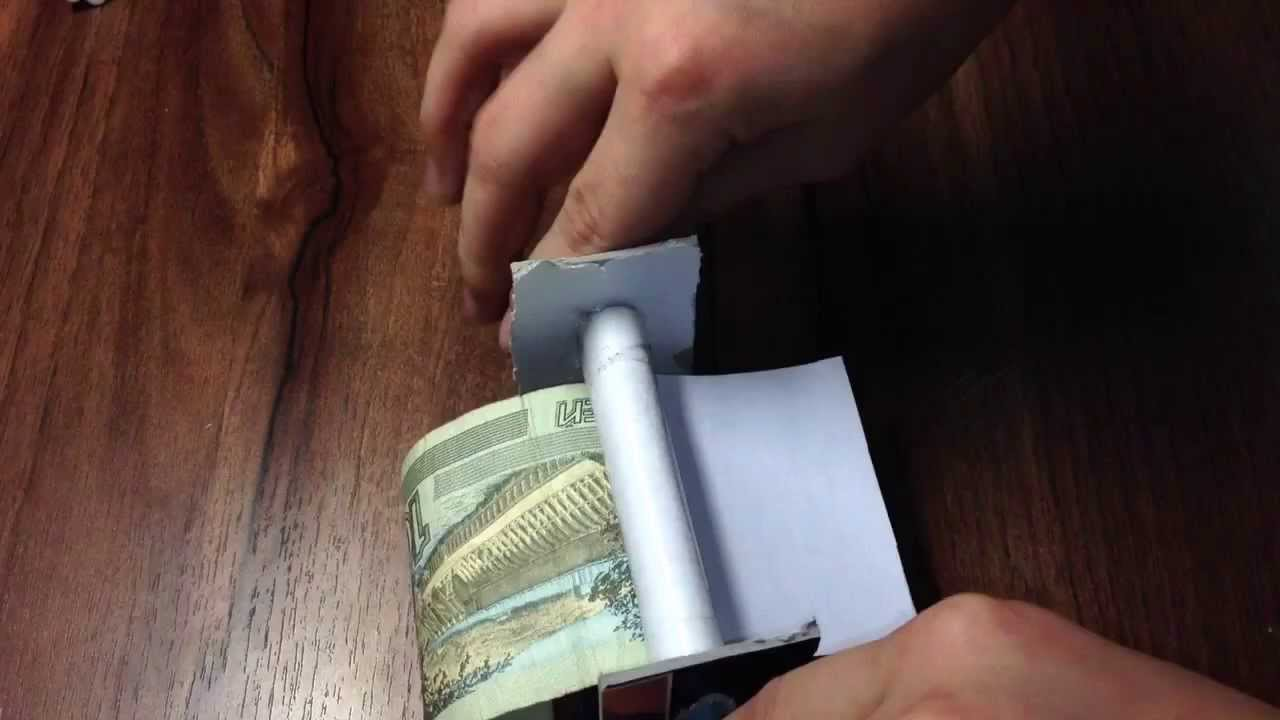 Как сделать машинку для печати денег