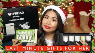 Last Minute Christmas Gift Guide for Her || Sunshine Carreon