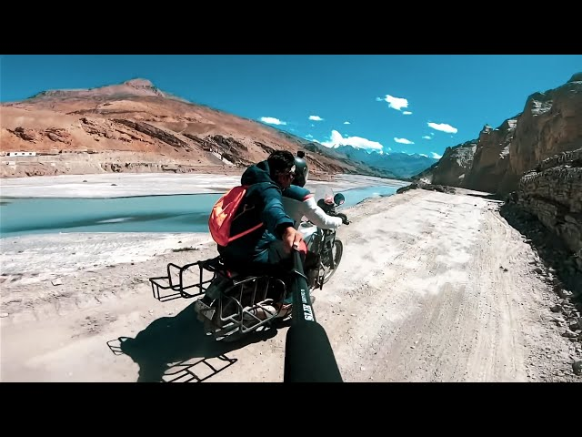 OFF-ROAD RIDE TO PIN VALLEY   Spiti Valley   Marathi Vlog   Episode 4