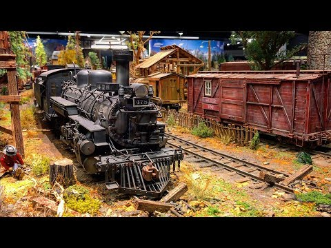 Tim Palmer - More Model Railroads.  The Detail On This One Is Incredible!