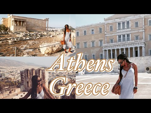 Athens Greece Travel Vlog | Vlog #7 | Dr Andy Adventures | South African Youtuber