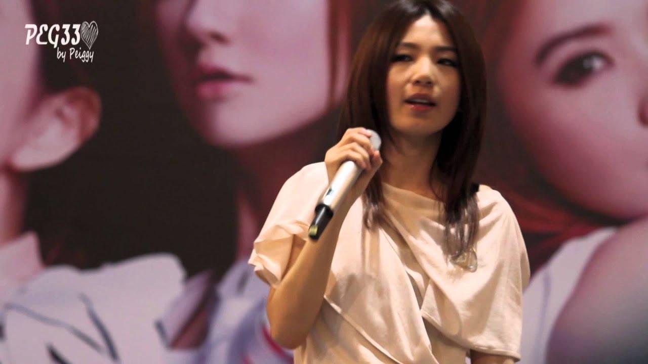 121209 S.H.E 高雄簽唱會 - 花又開好了 (HEBE FOCUS) - YouTube