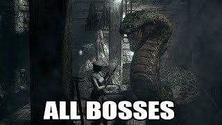 Resident Evil HD Remaster - All Bosses (With Cutscenes) HD 1080p60 PC