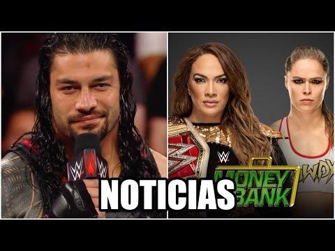 WWE Noticias: Reigns no perderá Push por lo de Backlash, Luchas confirmadas para Money in the Bank