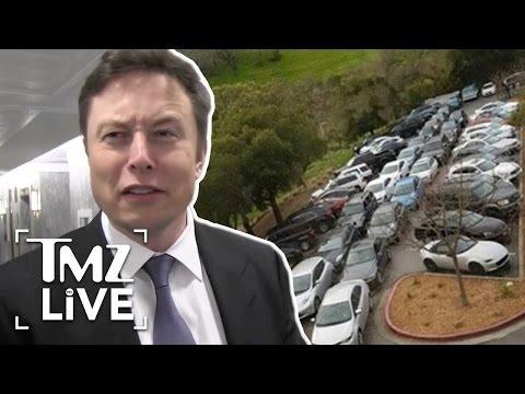 Elon Musk: Tesla Parking Nightmare | TMZ Live