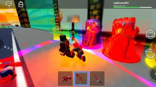 Main Roblox again Cuy but this time play the superhero and the horror
