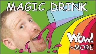 Magic English Drink for kids + MORE | English stories for children | Steve and Maggie