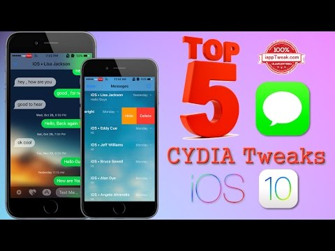 Best 5 Cydia tweaks to improve Messages app on iOS 10