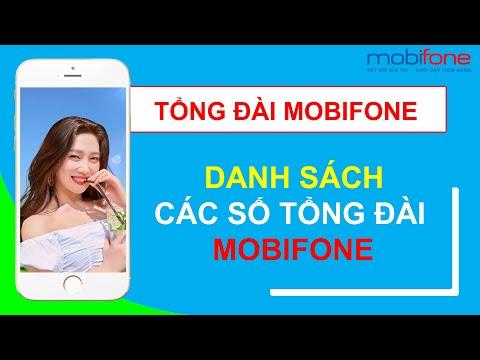 Tổng đài Mobifone, Tổng đài hỗ trợ khách hàng Mobifone, Hotline CSKH Mobifone mới nhất 2020