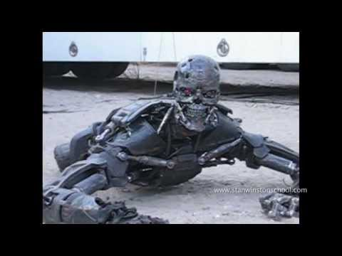 TERMINATOR SALVATION Behindthes T600 Puppet Rehearsal
