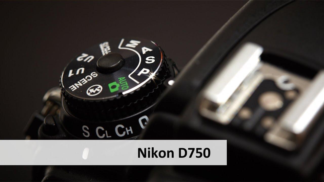 Nikon D750 - Vollformat-DSLR mit Schwenkdisplay im Unboxing [Deutsch ...