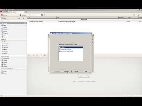 Opera Mail : configurer un compte IMAP