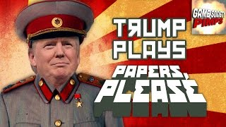 Donald Trump Immigration Game - GameSocietyPimps