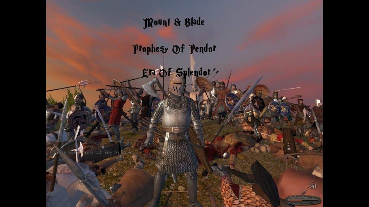 Скачать Маунт Блейд Пророчество Пендора Последней Версии