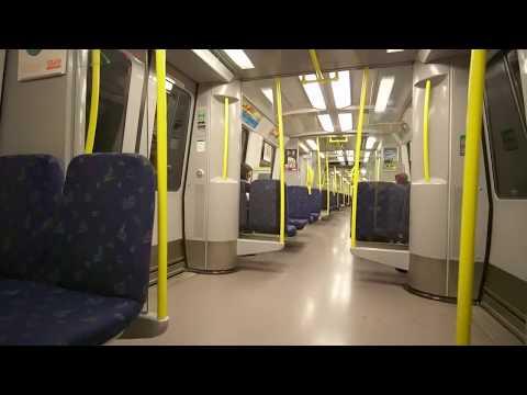 Sweden, subway ride from Ängbyplan to Stockholm Odenplan, 1X elevator to train platform