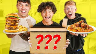 FaZe Clan Mystery Box Cooking Challenge!