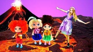 Куклы Сказочный Патруль, Принцесса София изаколдованный лес— Видео ИГРЫ для девочек