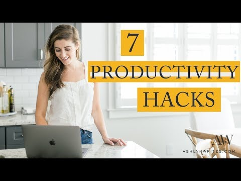 7 PRODUCTIVITY HABITS FOR CREATIVES (You Can *Actually* Implement) thumbnail
