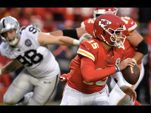 Kansas City Chiefs Quarterback Patrick Mahomes On The Team's 40-9 Win Over The Rival Oakland Raiders