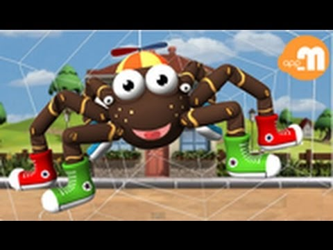 Incy Wincy Spider - The Itsy Bitsy Spider - Children's Song - appMink.com