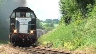 Train 98203 à Vincelles