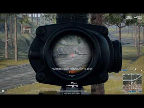 PUBG Sick Headshot With M4 With 4x Scope