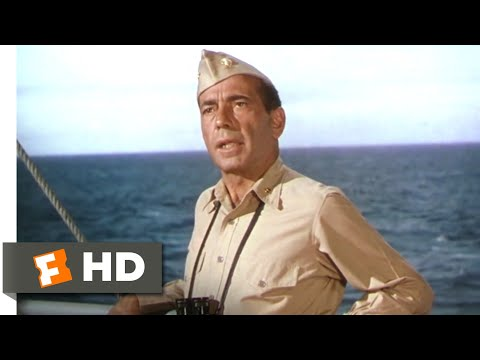 The Caine Mutiny (1954) - Cutting Across the Towline Scene (2/9) | Movieclips