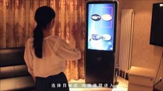 VirTouch-K100 демо на вертикальном и горизонтальном экранах