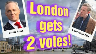 London you get 2 votes for Mayor - I pick these two to replace Sadiq Khan
