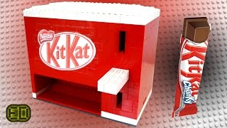 Lego KitKat Chocolate Bar Machine
