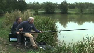 part 10 angling basics with shakespeare hooking and landing a fish on the pole mp4