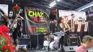 "KISS Alive - cover of ""Shout It Out Loud"" - WPLR Toy Drive - December 06, 2013"