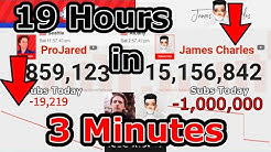 James Charles and ProJared Losing Subs Like CRAZY (-1M in Less Than a Day)