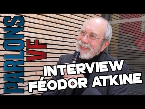 PARLONS VF - FÉODOR ATKINE (Dr House, Jafar, Hugo Weaving, Breaking Bad, Jeremy Irons…)