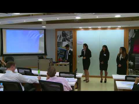 2017 Round 1 University of Hawaii - HSBC/HKU Asia Pacific Business Case Competition