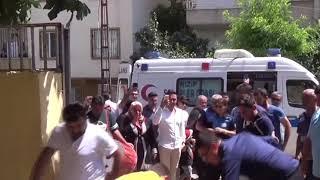 İdlip te yaralanan asker memleketinde kahramanlar gibi karşılandı