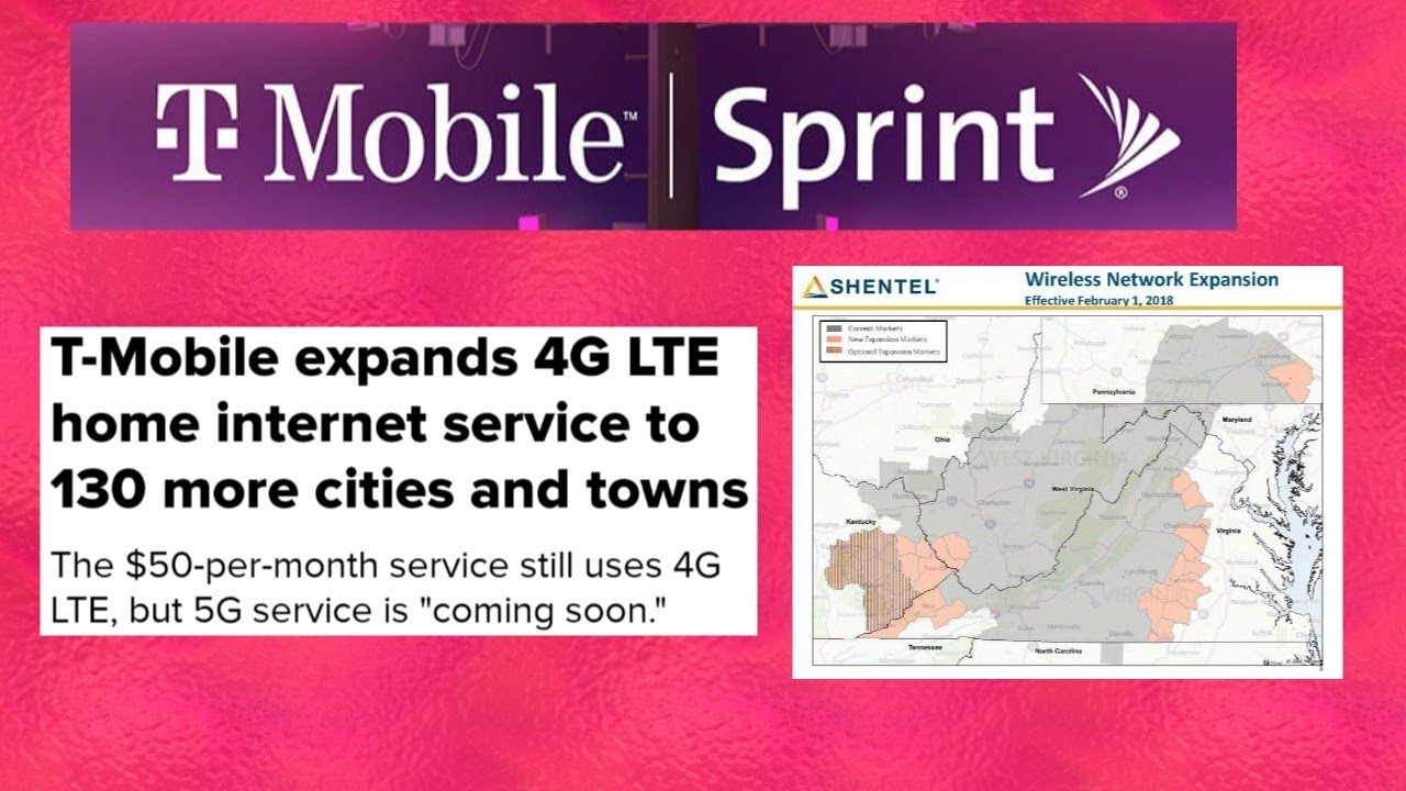 T Mobile Home Internet Expands To 130 Additional Markets T Mobile Shentel Deal Imminent Youtube