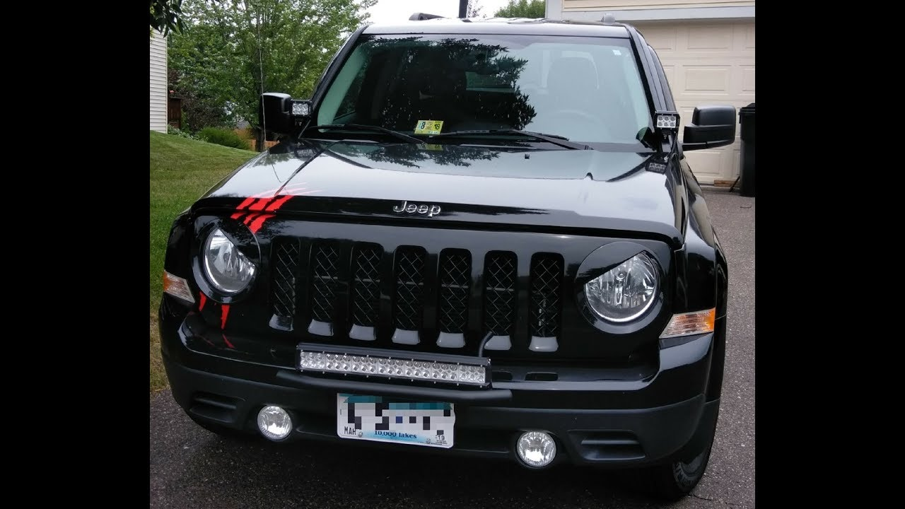 Jeep Patriot Front Bumper Removal Youtube