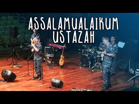 US Pacific Fleet Band Cover Lagu 'Assalamualaikum Ustazah'!